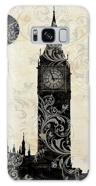 Moon Over London Galaxy Case by Mindy Sommers