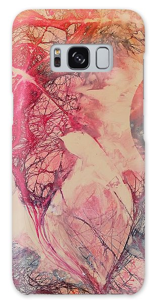 Moonsong Galaxy Case by Elizabeth Carr