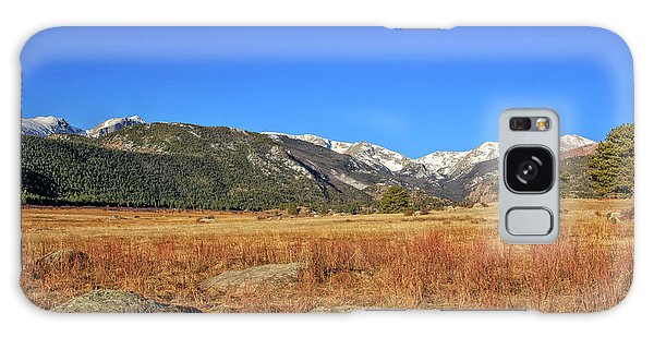 Moraine Park In Rocky Mountain National Park Galaxy Case by Peter Ciro
