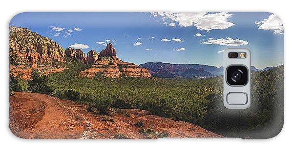 Mormon Canyon Panorama Galaxy Case