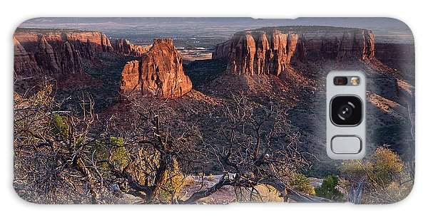 Morning At Colorado National Monument Galaxy Case