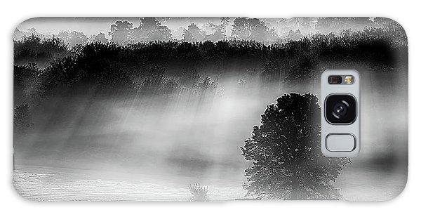 Morning Fog Galaxy Case