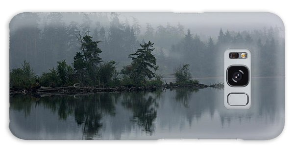 Morning Fog Over Cranberry Lake Galaxy Case