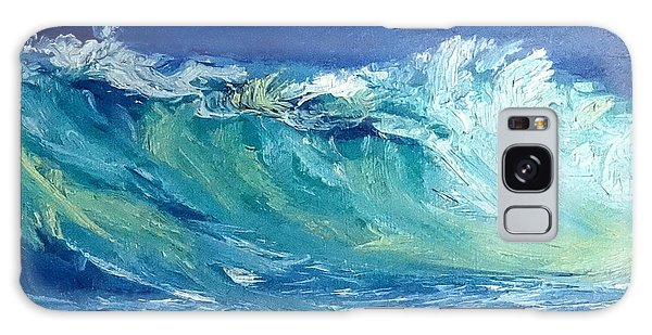 Morning Surf Galaxy Case by Fred Wilson