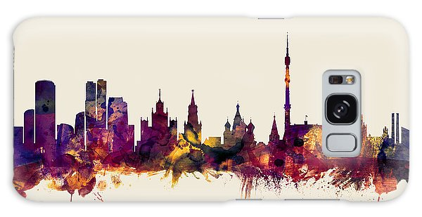 Moscow Skyline Galaxy S8 Case - Moscow Russia Skyline by Michael Tompsett