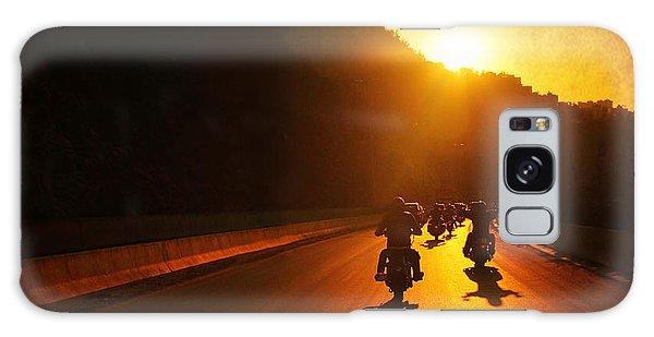 Motorcycle Ride Galaxy Case