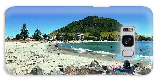 Mount Maunganui Beach 1 - Tauranga New Zealand Galaxy Case