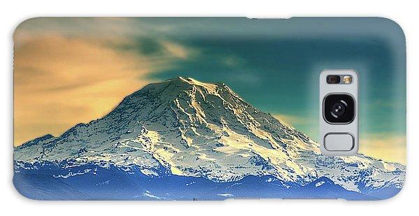 Mount Rainier Galaxy Case