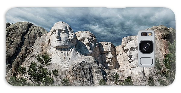 Abraham Lincoln Galaxy Case - Mount Rushmore II by Tom Mc Nemar