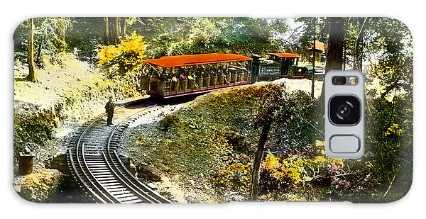 Mount Tamalpais Railway In The 1890s California Galaxy Case