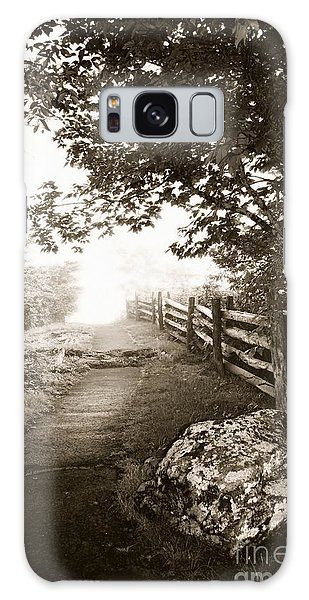 Mountain Morning Galaxy Case by Janice Spivey