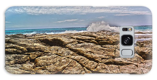 Mouth Of Margaret River Beach II Galaxy Case