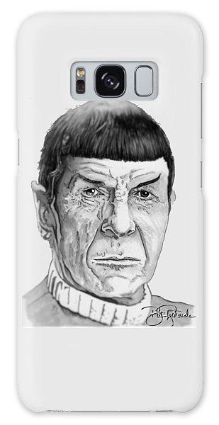 Mr Spock Galaxy Case