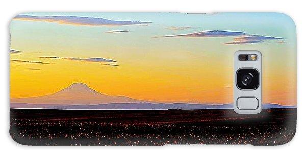 Mt. Adams Sunset Galaxy Case