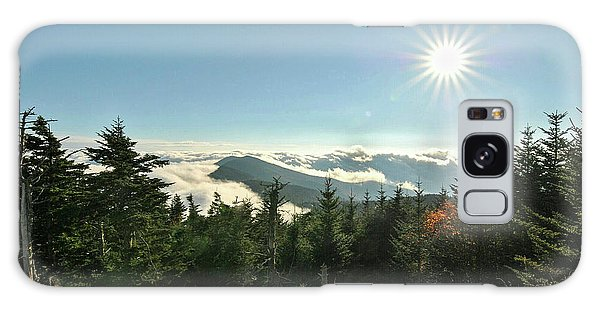 Mt Mitchell Landscape Galaxy Case