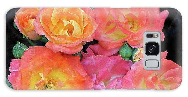Multi-color Roses Galaxy Case