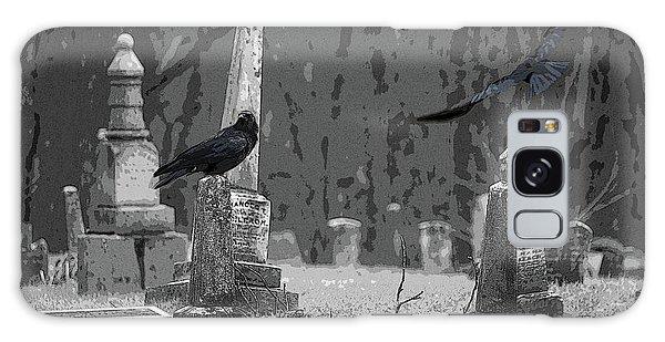 Murder Of Crows Galaxy Case by Rowana Ray