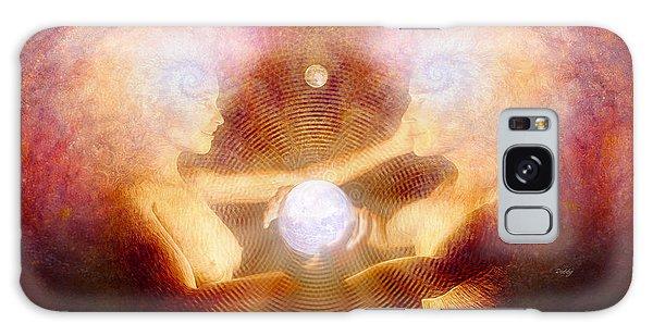 Namaste Galaxy Case