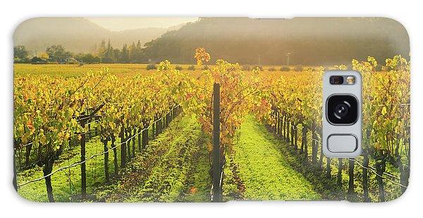 Napa Valley California Vineyard In The Fall Galaxy Case