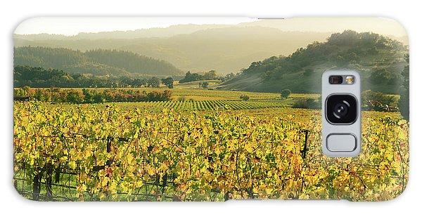 Napa Valley In Autumn Galaxy Case