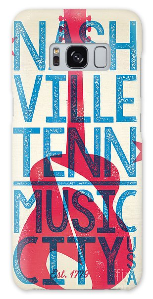Poster Galaxy Case - Nashville Poster - Tennessee by Jim Zahniser