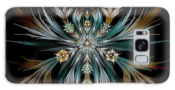 Native Feathers Galaxy Case