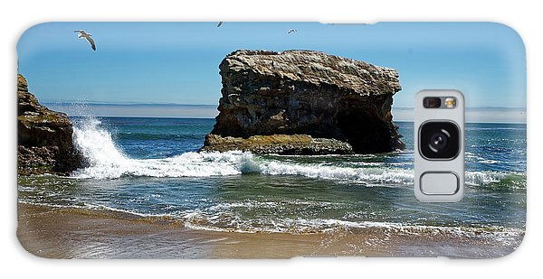 Natural Bridges State Park Galaxy Case
