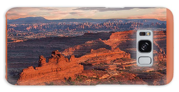 Needles Sunset From White Crack Galaxy Case