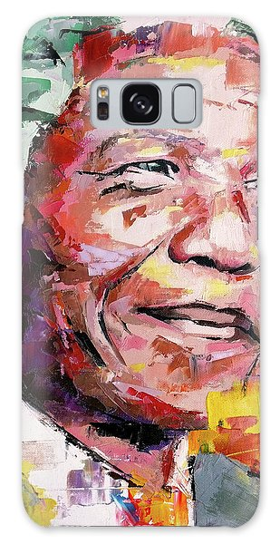 Nelson Mandela Galaxy Case by Richard Day