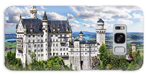 Neuschwanstein Castle Galaxy Case
