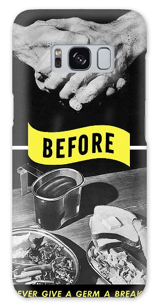 Ww2 Galaxy Case - Never Give A Germ A Break by War Is Hell Store