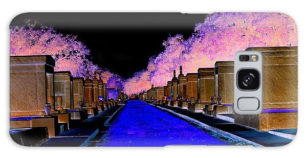 New Orleans Cemetery Galaxy Case by Janice Spivey