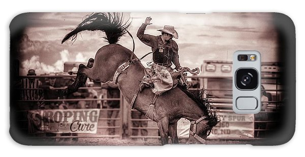 Prca Galaxy Case - Saddle Bronc by Chad Rowe