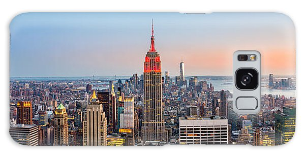 New York Skyline Panorama Galaxy Case