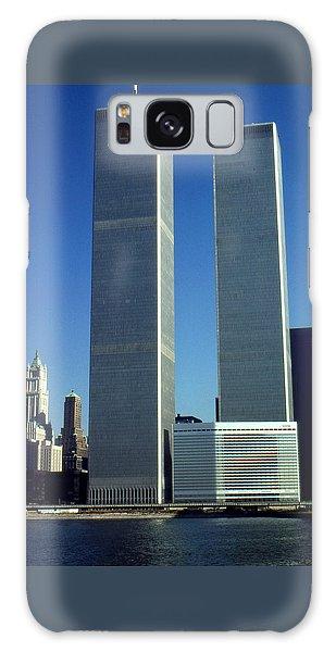 New York World Trade Center Before 911 Photo Galaxy Case
