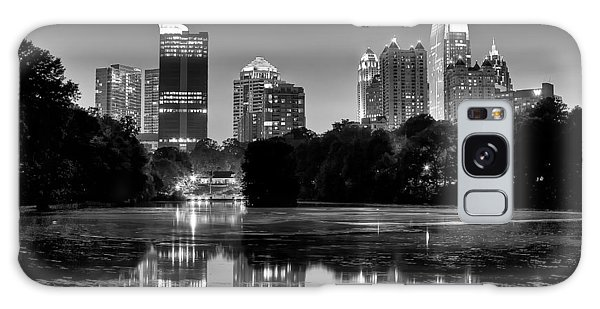Night Atlanta.piedmont Park Lake. Galaxy Case
