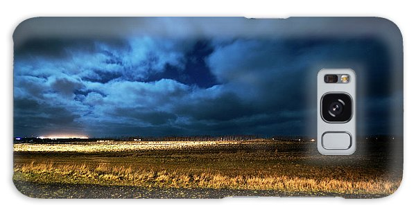 Galaxy Case featuring the photograph Icelandic Night  by Dubi Roman