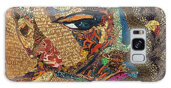 Nina Simone Fragmented- Mississippi Goddamn Galaxy Case by Apanaki Temitayo M