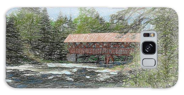 North Country Bridge Galaxy Case by John Selmer Sr