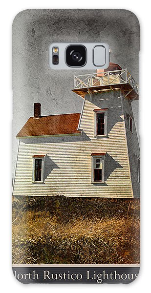 North Rustico Lighthouse Galaxy Case