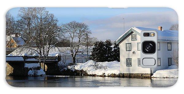Norwegian Winter Landscape  Galaxy Case