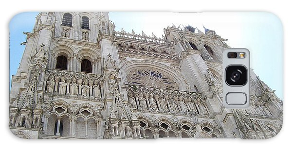 Notre-dame D'amiens Galaxy Case by Mary Mikawoz