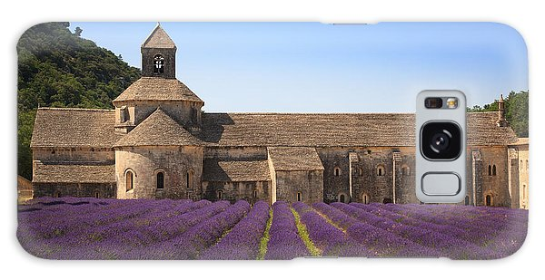 Notre-dame De Senanque  Abbey Provence France Galaxy Case