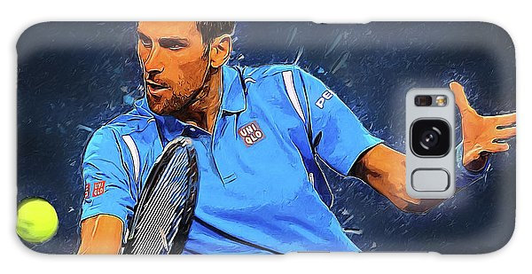 Novak Djokovic Galaxy Case by Semih Yurdabak