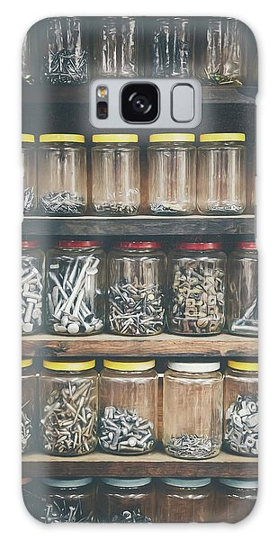 Indoors Galaxy Case - Nuts And Bolts And Bolts And Nuts by Scott Norris