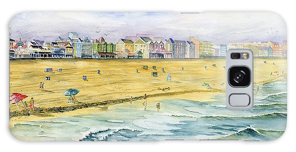 Ocean City Maryland Galaxy Case by Melly Terpening