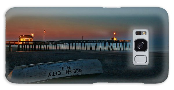 Ocean City  N J Sunrise Galaxy Case