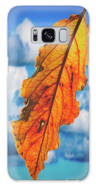 October Leaf B Fine Art Galaxy Case