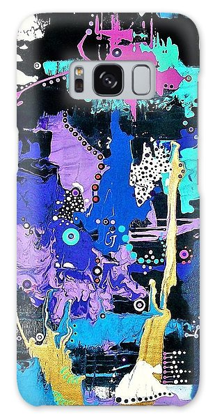 Of Moonbeams And Mad-hatters Galaxy Case
