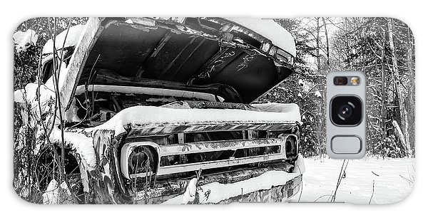 Galaxy Case - Old Abandoned Pickup Truck In The Snow by Edward Fielding